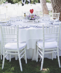 White Tiffany Chairs Manufacturers